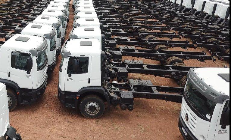 Chassi caminhões toco - Rainha dos caminhões